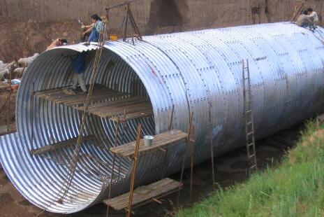 Spiral Corrugated Metal Culverts