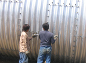 The main purpose of the corrugated metal culvert