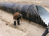 Advantages of Spiral corrugated culvert pipe