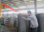 Corrugated Metal Tube Structure