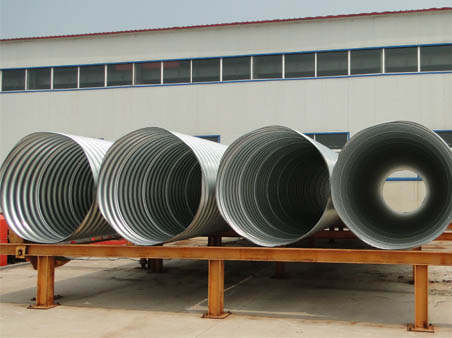 Corrugated Metal Pipes for Culverts
