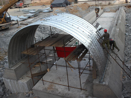 System of Corrosion Protection Duplex of corrugated steel culvert