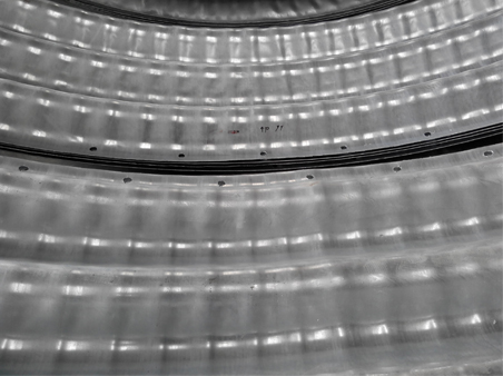 Corrugation 400mm_x 150mm