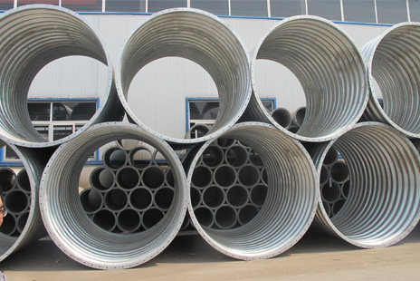 steel corrugated pipe