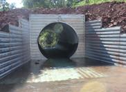 How to check the corrugated metal culvert