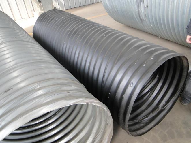 Hel-Cor Galvanized Corrugated Steel Pipe