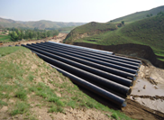 Prevent the leakage of corrugated steel culvert