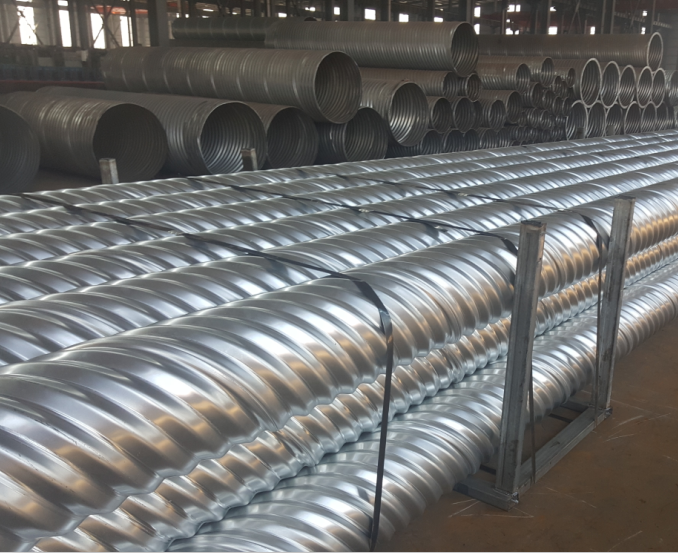 Spiral Corrugated Metal Pipe Corrugated Steel Culvert