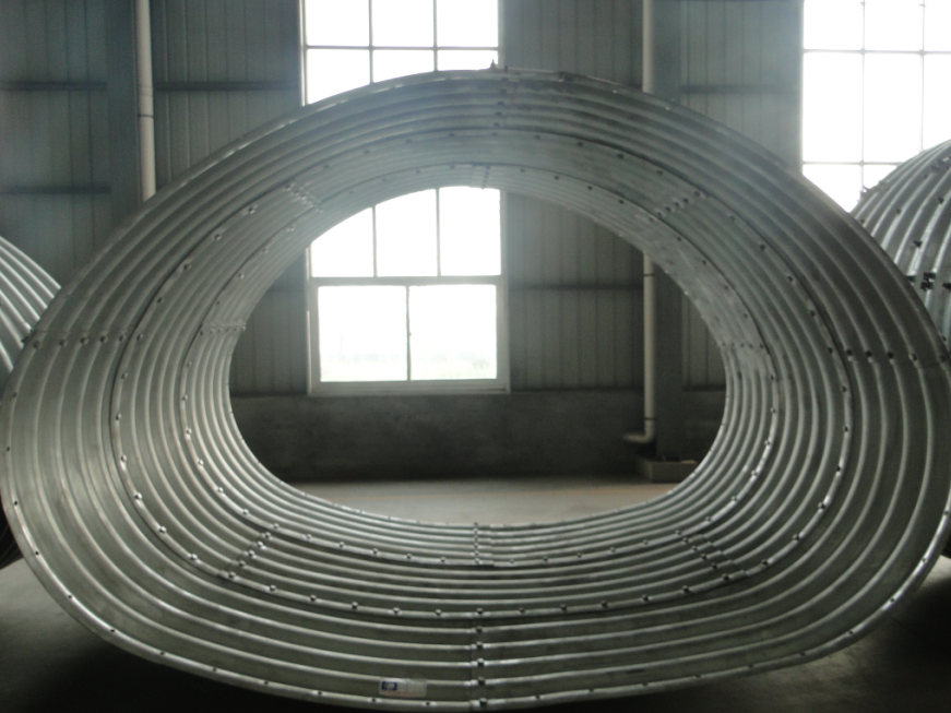 Horseshoe Shape Corrugated Steel Pipe High Quality