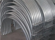 Construction safety of corrugated metal culvert