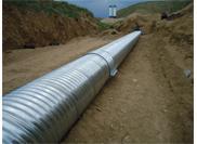 Process principle of  culvert metal pipe