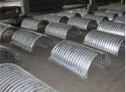 Design requirements for steel corrugated culvert pipe