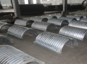 Metal Corrugated Pipe Culvert in Civil, Commercial And Other Industries Have Been Widely Used!
