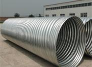 Common manufacturing method for metal corrugated culvert pipe