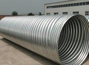 Range of metal corrugated pipe used