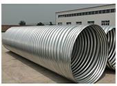 Highway Drainage Galvanized Metal Corrugated Pipe Culvert