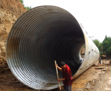 What Are The Precautions For Steel Corrugated Culvert Construction?